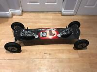 MBS Comp 6 Mountain Board with stickers