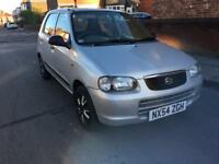 2004/54 suzuki alto 1.1 gl £30 a year road tax