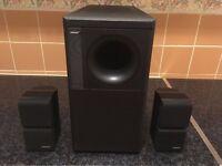 Vintage Bose Acoustimass 5 Series II Speakers & Sub-woofer