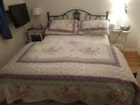 Double throw and two pillow shams for £25
