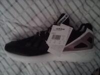 BNWT Genuine Adidas Tubular casual shoes, size UK9½, Eur 44