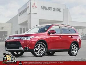 2015 Mitsubishi Outlander SE–4WD–Accident Free–One Owner–Touring