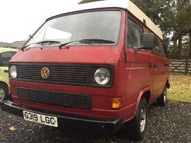VW T25 VOLKSWAGEN T3 Camper Van Campervan Leisure Drive 1989 1.9