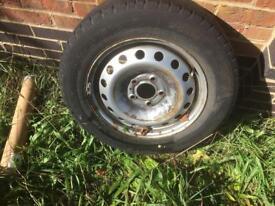 Nissan primastar wheel and Tyre