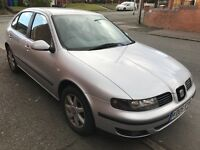 Seat Leon 1.4 16v 97,905 miles. MOT 18th October 2017.