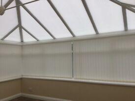 Large white UPVC conservatory. Fantastic condition.