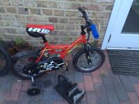 Boys bike Like new recently serviced Bargain Very Good Condition