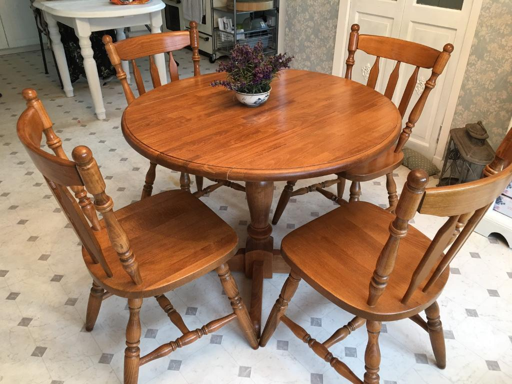 Dining kitchen table   Lovely John Lewis round drop leaf ...