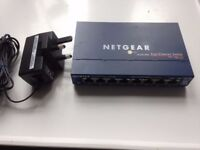 Netgear FS108 8 port 10/100 switch