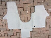 VW T5/T6 Front Foot Well Velour Carpet. New and unused.