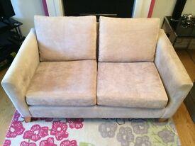 Next Two Seater Small Sofa, Highbury Hendon Mink