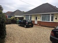 Double room for rent in immaculate bungalow in Poole Bills Included