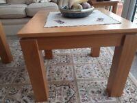 Light Oak Side Tables