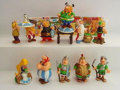Kinder Surprise ASTERIX Complete Collectible Figures Sets Figurines Miniatures