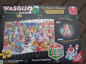 CHRISTMAS THEME JIGSAW PUZZLE 1000 PIECE