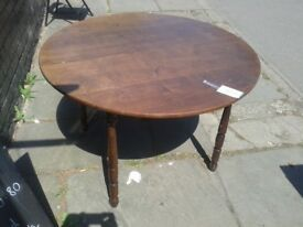 EXTENDABLE DINING KITCHEN SOLID WOOD TABLE, COULD DELIVER 2 OXFORD, 4.5FT (OPENS 2 7FT WIDE) ISH