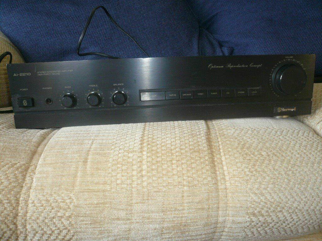 Sherwood A1- 2210 stereo integrated amplifier  | in Polegate, East Sussex |  Gumtree