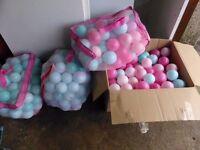 girls play balls
