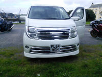 Nissan Elgrand Rider Autech Fully loaded