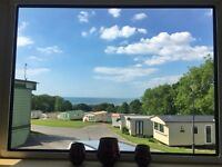 STUNNING SEA VIEWS! 3 Bed Static Caravan in Coastal Mid/West Wales! Right Next To Beach. Borth.