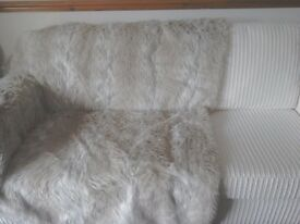 Cream sofa nearly new