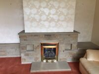 Yorkshire Stone fire place