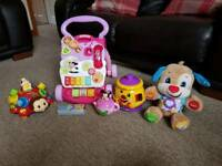 Toddler toys like new