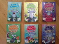 Harry Hammer Shark, books 1-6 by Davy Ocean. Used & read, good condition. St Leonard's, Exeter.
