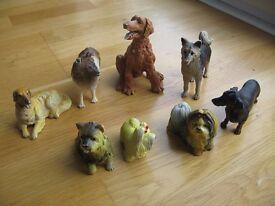 Miniature dogs (8 pieces)