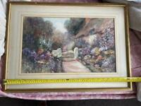Leyton Forbes , water color painting , framed , 1900 -1925