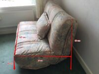 Double sofa bed, excellent condition, metal frame. £60. Buyer collects