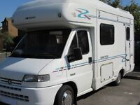 Peugeot Boxer Motor Home In Excellent Condition