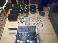 complete moblie disco equipment