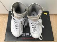 Girls GRAF ice skates size 10