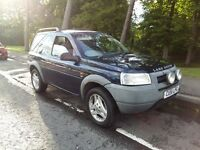 2001 (Nov) Land rover Freelander 1.8 petrol 3 door