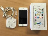 IPhone 5S 16GB - white - excellent condition