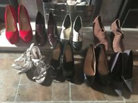 Shoes, used size 5, 7 pairs