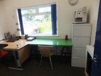 Office within shared secure Unit, fibre optic Broadband, £55 PER WEEK.