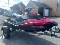 2016 Seadoo Jetski spark 2UP low hours excellent condition