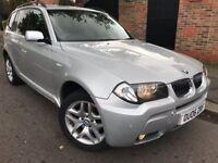 **BMW X3 3.0l M Sport Petrol Auto Silver 2006**