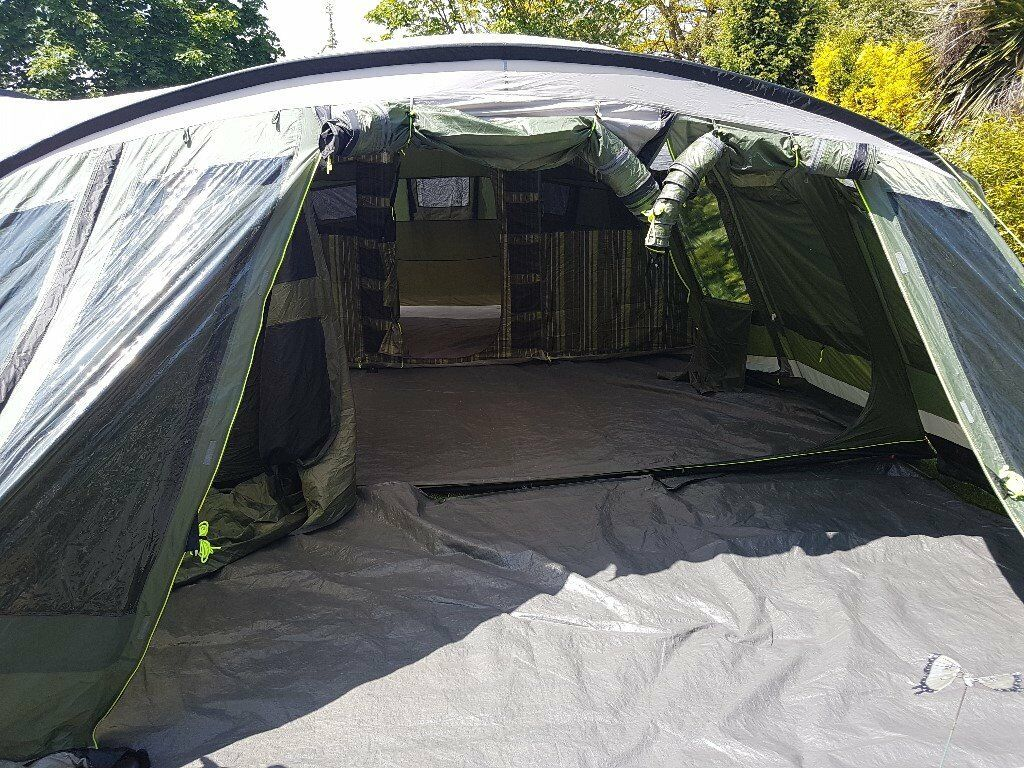 Outwell Vermont XLP tent with extension/protector/carpet ...