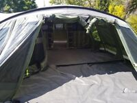 Outwell Vermont XLP tent with extension/protector/carpet & lots of furniture
