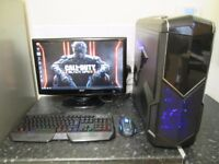 """★Complete i5/GTX750 Ti 4GB/SSD Gaming Pc With 23"""" 1080p Monitor★"""