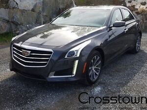 2016 Cadillac CTS AWD/NAVI/PANORAMIC ROOF/HEATED AND COOLED LEAT