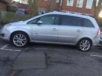 2009 vauxhall zafira 1.9 cdti 120 disain 7 seater looks and drives well