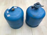 Two Campingaz Cylinders