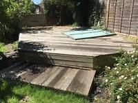 Decking for firewood