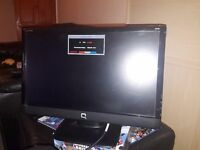 """HP Compaq Q2159 21.5"""" Widescreen LCD Monitor, built-in Speakers Great Condition"""