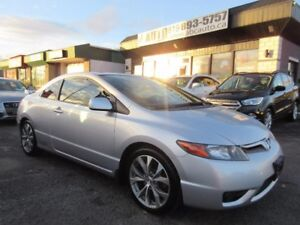 2007 Honda Civic Coupe Si (6 Speed transmission, Sunroof, Tinted