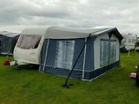Avondale 5 birth caravan with full awning